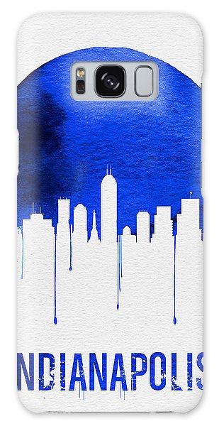 Indianapolis Galaxy Case - Indianapolis Skyline Blue by Naxart Studio