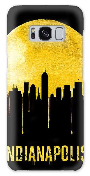 Indianapolis Galaxy Case - Indianapolis Skyline Yellow by Naxart Studio