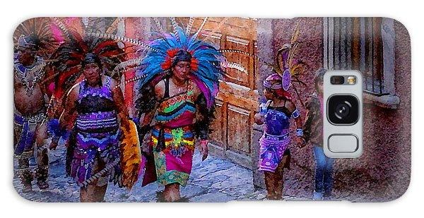 Indians Walking  On Pila Seca Galaxy Case