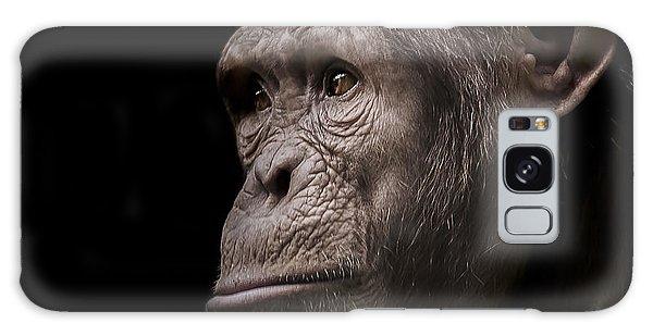 Chimpanzee Galaxy S8 Case - Indignant by Paul Neville