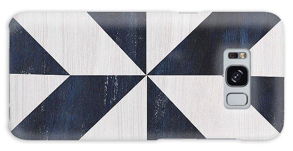Galaxy Case - Indigo And Blue Quilt by Debbie DeWitt