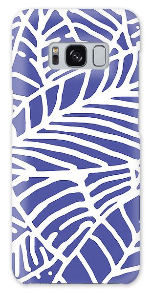 Indigo Leaves Batik Galaxy Case