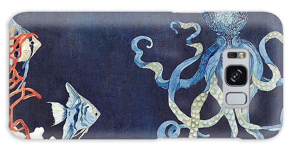 Indigo Ocean - Floating Octopus Galaxy Case