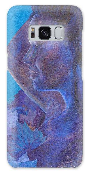 Indigo Serene Galaxy Case by Ragen Mendenhall