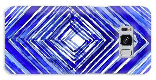 Any Galaxy Case - Indigo Textile 10 by Kimberly Potts