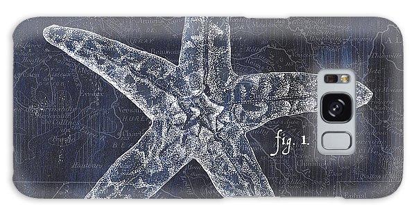 Shipping Galaxy Case - Indigo Verde Mar 4 by Debbie DeWitt