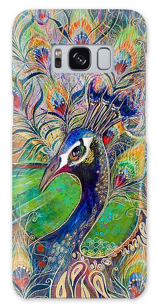 Confidence And Beauty- Individuality Galaxy Case by Leela Payne