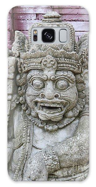 Indonesian Statue #2 Galaxy Case