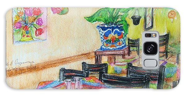 Indoor Cafe - Gifted Galaxy Case by Judith Espinoza