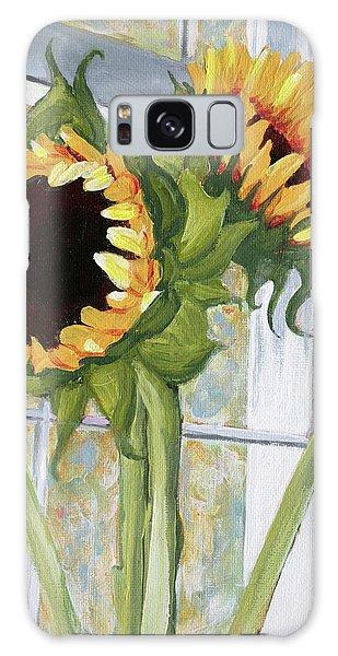 Indoor Sunflowers II Galaxy Case