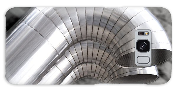 Industrial Air Ducts Galaxy Case by Henri Irizarri
