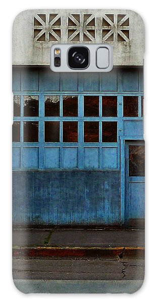 Industrial Blue Galaxy Case by Patricia Strand
