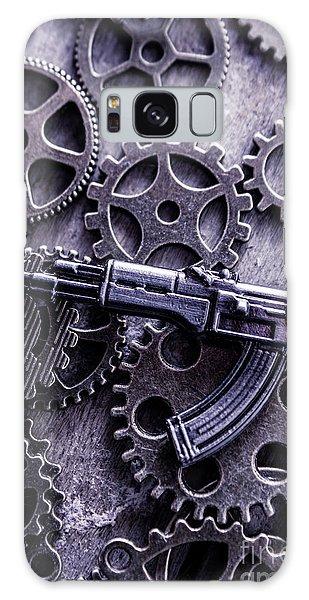 Assault Galaxy Case - Industrial Firearms  by Jorgo Photography - Wall Art Gallery
