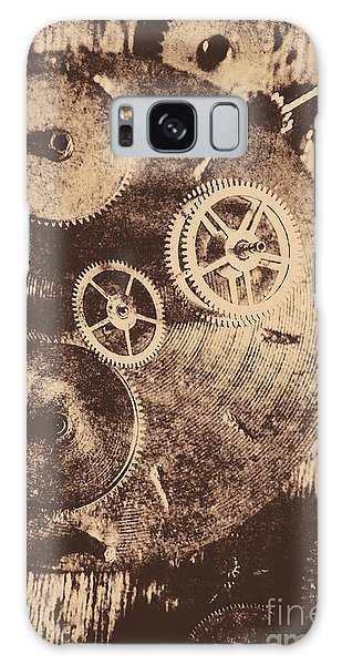 Technology Galaxy Case - Industrial Gears by Jorgo Photography - Wall Art Gallery