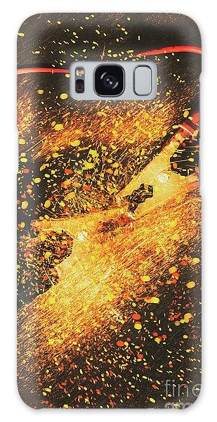 Jump Galaxy Case - Industrial Jump Start by Jorgo Photography - Wall Art Gallery