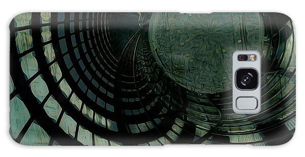 Industrial Overpass Grey Galaxy Case