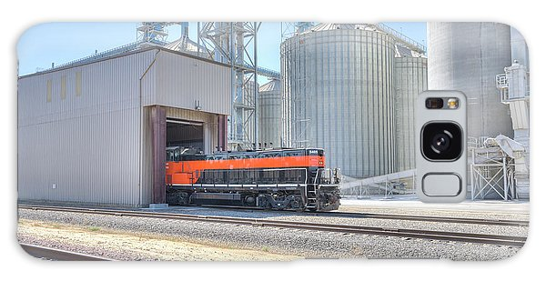 Galaxy Case featuring the photograph Industrial Switcher 5405 by Jim Thompson
