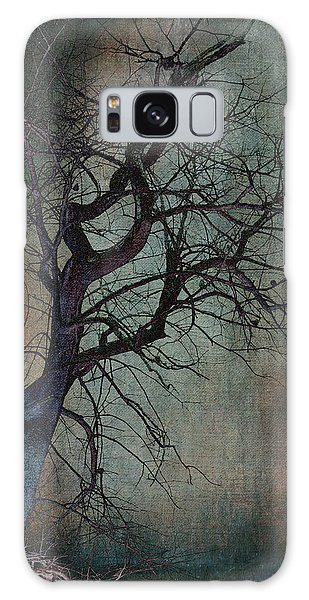 Infared Tree Art Twisted Branches Galaxy Case