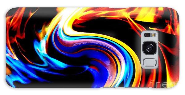 Inferno Abstract I Galaxy Case