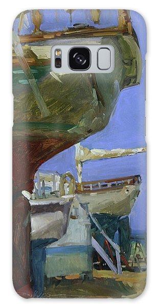 Infinity Awaiting Winter - Plein Air Catalina Island Galaxy Case