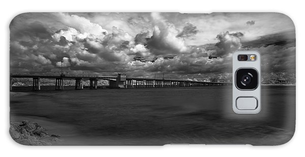 Infrared Longboat Pass Bridge Galaxy Case