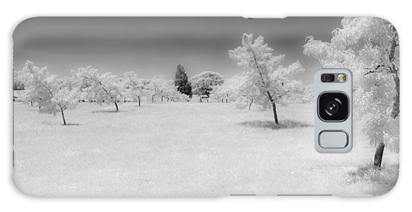 Infrared Peach Orchard Galaxy Case