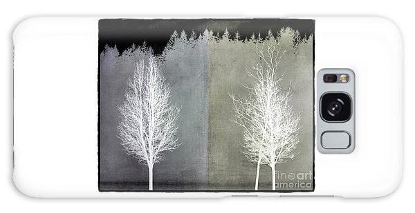 Infrared Trees With Texture Galaxy Case by Patricia Strand