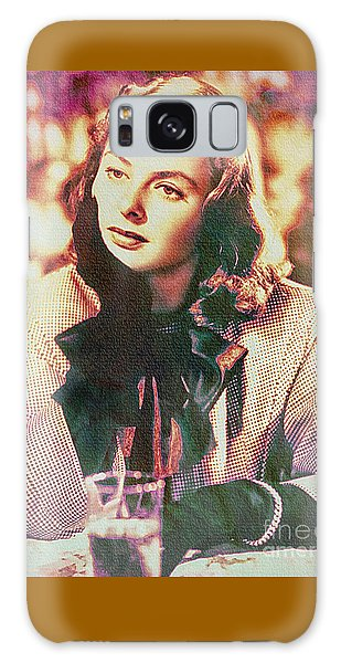 Ingrid Bergman - Movie Legend Galaxy Case