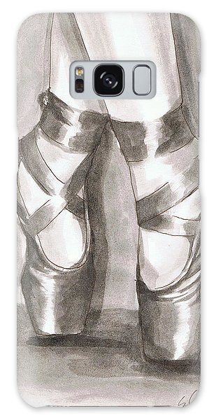 Ink Wash En Pointe Galaxy Case