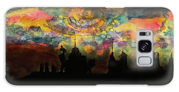 Inky Inky Night II Galaxy Case