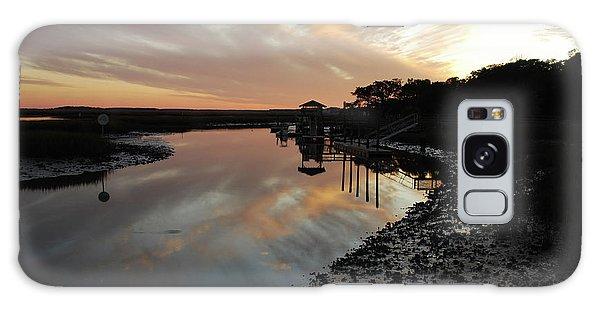 Inlet Sunset Galaxy Case by Gordon Mooneyhan
