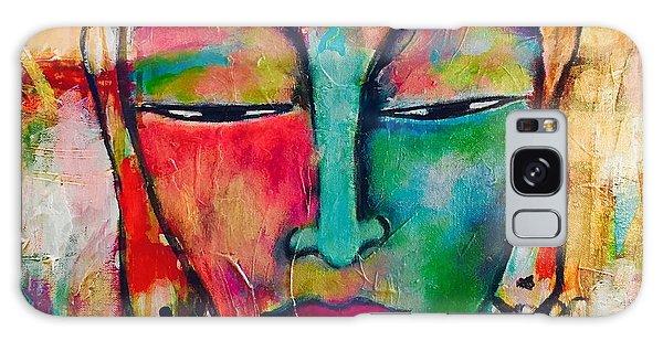 Inner Buddha  Galaxy Case