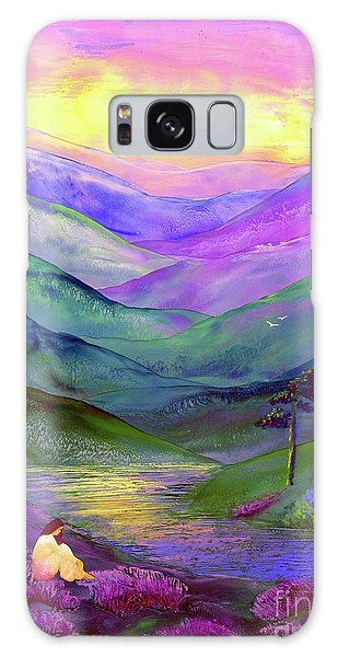 Tranquil Galaxy Case - Inner Flame, Meditation by Jane Small