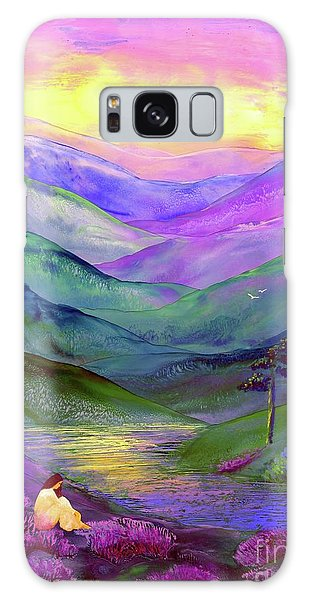 Figurative Galaxy Case - Inner Flame, Meditation by Jane Small