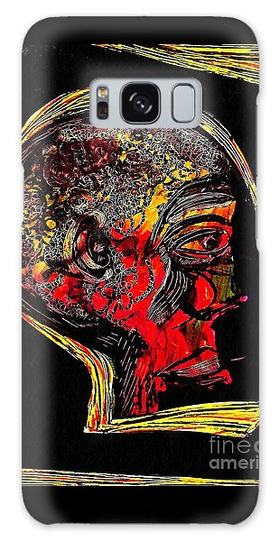 Thought Provoking Galaxy Case - Inner Man by Sarah Loft