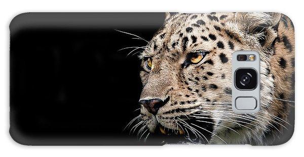 Leopard Galaxy S8 Case - Inner Strength  by Paul Neville