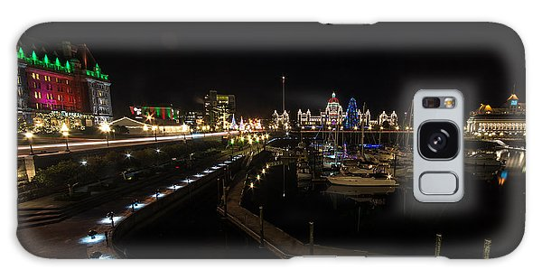 Inner Harbour Of Victoria Bc Galaxy Case