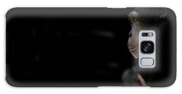 Chimpanzee Galaxy S8 Case - Innocence by Paul Neville