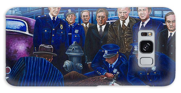 Innocent Bystanders Galaxy Case by Michael Frank