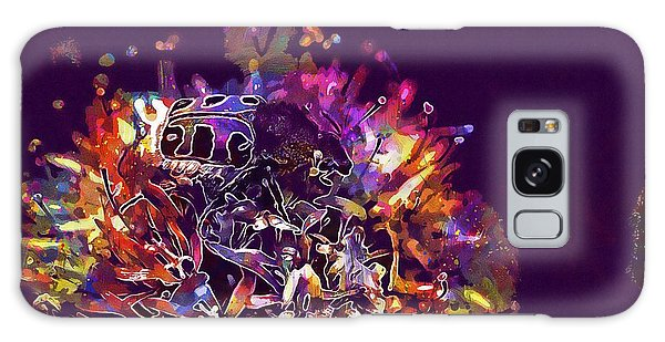 Galaxy Case featuring the digital art Insect Bug Bee Beetle  by PixBreak Art