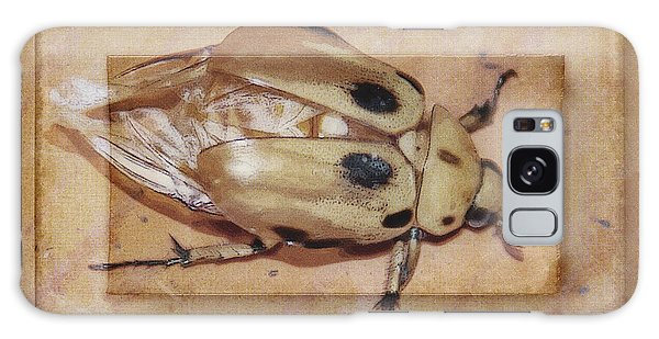 Insect On Wooden Board Galaxy Case
