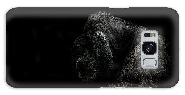 Orangutan Galaxy Case - Insecurity by Paul Neville