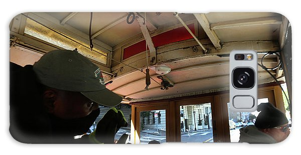 Inside A Cable Car Galaxy Case by Steven Spak