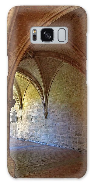 Inside A Monastery Dordogne France  Galaxy Case