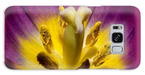 Inside A Purple Tulip Galaxy Case