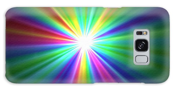 Inside A Rainbow Galaxy Case