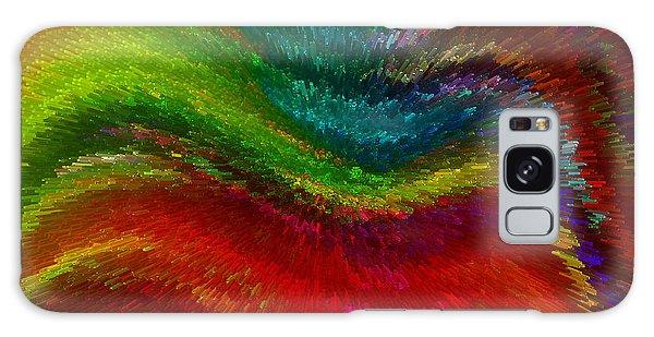 Inside A Rainbow Galaxy Case by Stuart Turnbull