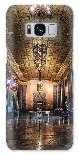 Inside The Louisiana State Capitol Galaxy Case by Andy Crawford