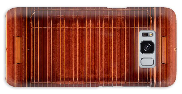 Shelves Galaxy Case - Inside The Oven From Above by Allan Swart