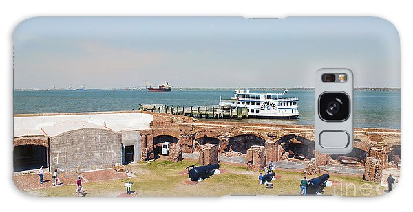 Inside View Of Fort Sumter Galaxy Case